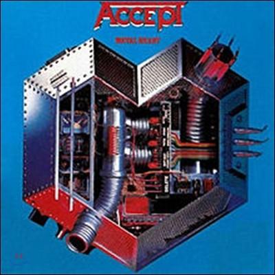 Accept (억셉트) - Metal Heart [컬러 바이닐 한정반 LP]