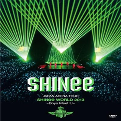 샤이니 (SHINee) - Japan Arena Tour Shinee World 2013 ~Boys Meet U~ (지역코드2)(2DVD+Photo Booklet)