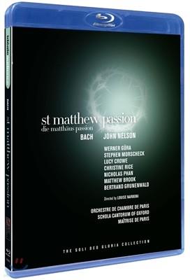 John Nelson / Werner Gura 바흐 : 마태수난곡 (Bach: St Matthew Passion, BWV244)