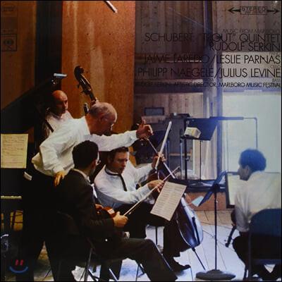 Rudolf Serkin 슈베르트: 피아노 오중주 '송어' - 루돌프 제르킨 (Schubert: Trout Quintet Op.114) [LP]