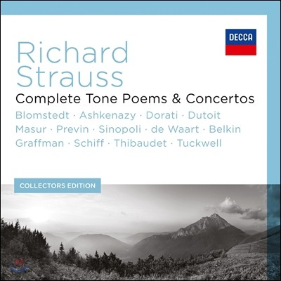Herbert Blomstedt R.슈트라우스 : 교향시 전곡, 협주곡 (Richard Strauss: Complete Tone Poems & Concertos)