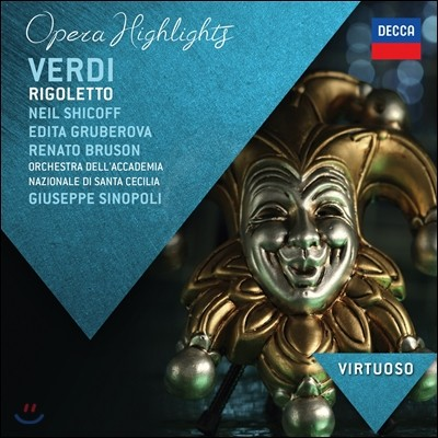 Edita Gruberova / Giuseppe Sinopoli 베르디: '리골레토' 하일라이트 - 그루베로바, 파스벤더, 시노폴리 (Opera Highlights - Verdi: Rigoletto)