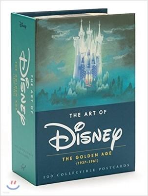 The Art of Disney The Golden Age (1928-1961) 100 Collectible Postcards 아트 오브 디즈니 골든 에이지 엽서 100장 박스 세트