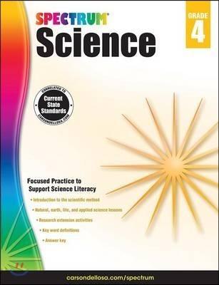 Spectrum Science : Grade 4