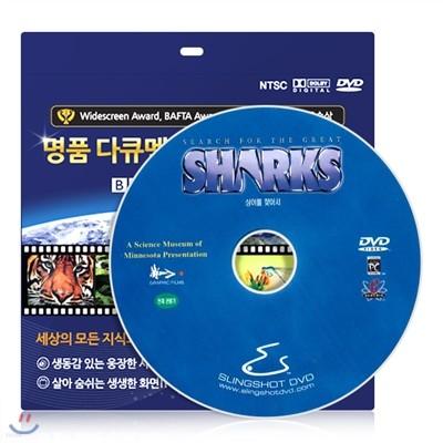 [IMAX 다큐멘터리] 상어를 찾아서 DVD / 초슬림케이스 / 영어 더빙 / 영,한 자막