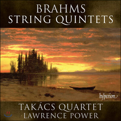 Takacs Quartet / Lawrence Power 브람스 : 현악 오중주 1 & 2번
