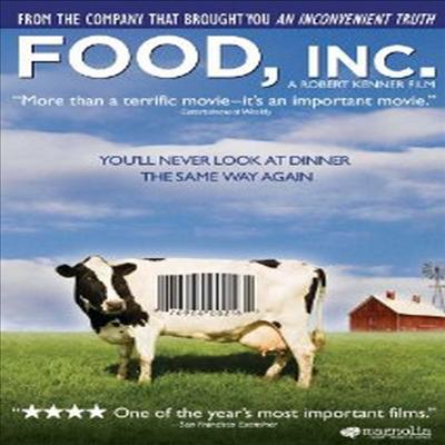 Food, Inc. (푸드 주식회사) (지역코드1)(한글무자막)(DVD) (2008)