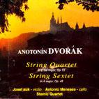 [미개봉] Josef Suk, Antonio Meneses, Stamic Quartet / Dvorak : String Quartet, String Sextet (미개봉/US1012)