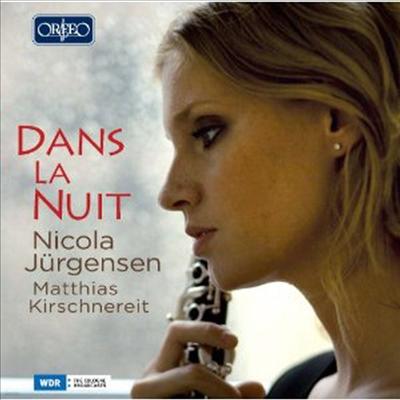 한밤의 클라리넷 - 낭만적인 클라리넷 음악들 (Dans la Nuit - Romantic Clarinet Music)(CD) - Nicola Jurgensen