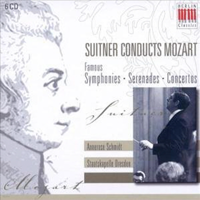 모차르트 : 교향곡 28-41번, 세레나데, 피아노 협주곡 (Mozart : Symphony No.28-41, Serenades, Piano Concerto No.19 & 21) (6 For 3) - Otmar Suitner