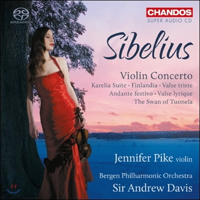 Jennifer Pike 시벨리우스: 바이올린 협주곡, 카렐리아 모음곡, 투오넬라의 백조 22-2번 외 - 제니퍼 파이크