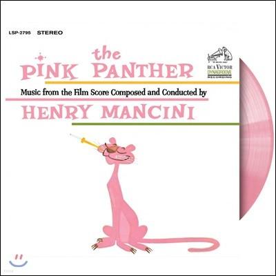 핑크 팬더 50주년 기념 한정반 사운드트랙 (The Pink Panther OST by Henry Mancini : 50th Anniversary Edition) [핑크 컬러 LP]