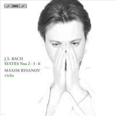 바흐: 무반주 첼로 모음곡 2번, 3번 & 6번 - 비올라 연주반 (Bach: Cello Suites Nos. 2, 3 & 6 - for Viola) (SACD Hybird) - Maxim Rysanov