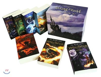 Harry Potter Box Set: the Complete Collection (영국판) : 해리 포터 영국판 1~7권 박스 세트