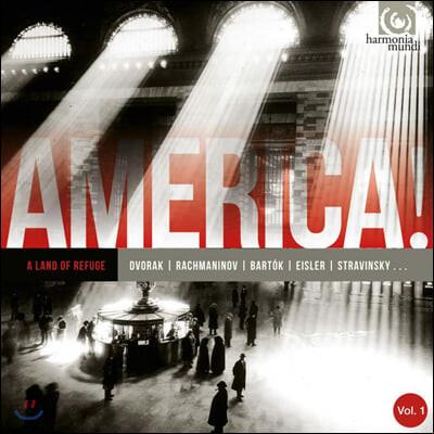 아메리카 1집 - 피난의 땅 (AMERICA! Vol. 1 - A Land of Refuge)