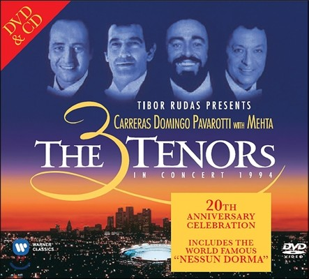 Jose Carreras  / Luciano Pavarotti / Placido Domingo 3테너 콘서트 1994 (The Three Tenors in Concert 1994)
