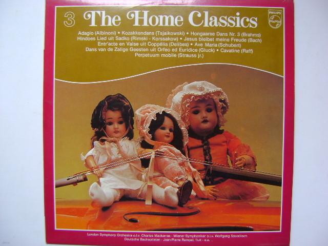 LP(엘피 레코드) The Home Classic 3 - 아다지오 / 헝가리 무곡 외