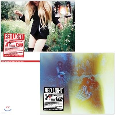 에프엑스 (f(x)) 3집 - Red Light [A 또는 B Ver. 랜덤발송]