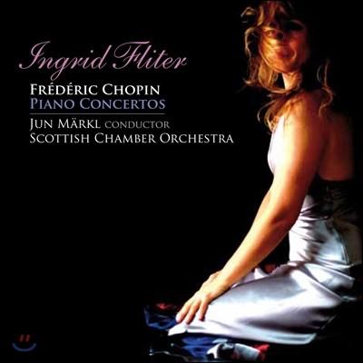 Ingrid Fliter 쇼팽: 피아노 협주곡 1번 2번 - 잉그리드 플리터 (Chopin: Piano Concertos)