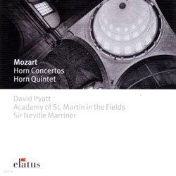 Mozart : Horn Concerto : PyattㆍASMFㆍMarriner