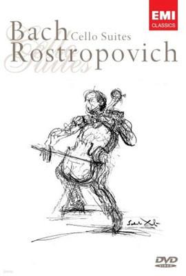 바흐 : 무반주 첼로 모음집 - 로스트로포비치