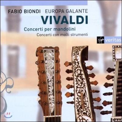 비발디  : 만돌린 협주곡집 - 파비오 비온디