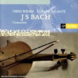 바흐 : 바이올린 협주곡 - 파비오 비온디