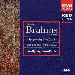Brahms : Symphony No.2 & 3 : Sawallisch