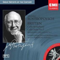 Britten / Shostakovich : Mstislav Rostropovich