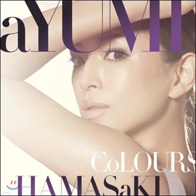 Hamasaki Ayumi - Colours (통상판) 하마사키 아유미 15번째 정규 앨범 [CD+DVD]