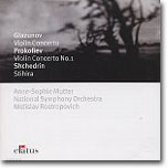 Glazunov / Prokofiev : Violin Concertos / Shchedrin : Stihira : MutterㆍRostropovich