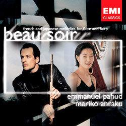 Beau Soir / French and Japanese Melodies for Flute and Harp : Emmanuel PahudㆍMariko Anraku