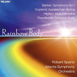 Atlanta Symphony Orchestra 바버 등 미국 작곡가 작품집 (Rainbow Body)
