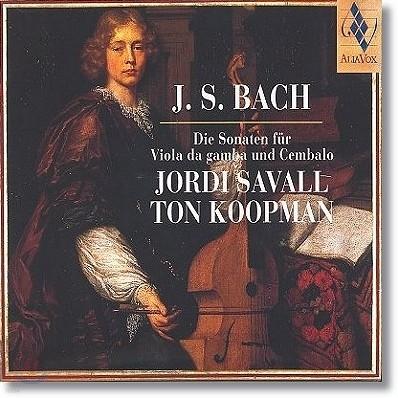 Jordi Savall / Ton Koopman 바흐: 비올라 다 감바 소나타 (Bach: Sonatas for Viola da gamba & Harpsichord) 조르디 사발, 톤 쿠프만