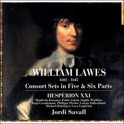 Jordi Savall 윌리엄 로스: 5성 및 6성 콘소트 음악 (William Lawes: Consort Sets in Five, Six Parts)