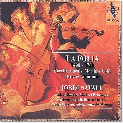 Jordi Savall 라 폴리아 - 조르디 사발 (La Folia 1490-1707)