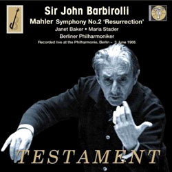 John Barbirolli 존 바비롤리 - 말러: 교향곡 2번 '부활' (Mahler: Symphony No. 2 'Resurrection')