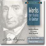 Luigi Alberto Bianchi / Maurizio Preda 파가니니: 바이올린과 기타를 위한 음악 (Paganini: Works For Violin And Guitar)