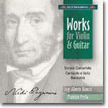 Paganini : Works for Violin and Guitar