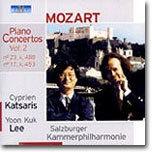 이윤국 / Cyperien Katsaris 모차르트: 피아노 협주곡 17번 23번 (Mozart: Piano Concertos Vol.2 - K453 & K488)