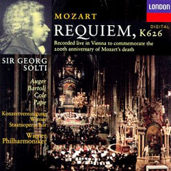 Georg Solti 모차르트 : 레퀴엠 (Mozart: Requiem in D minor, K626)