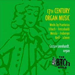 17세기 오르간 음악 - 구스타프 레온하르트