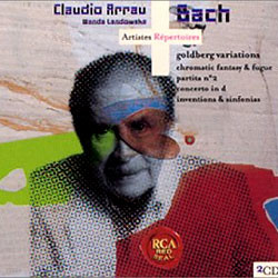 Bach : Goldberg Variations : Claudio ArrauㆍWanda Landowska