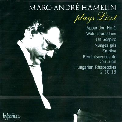 Marc-Andre Hamelin 아믈렝이 연주하는 리스트 피아노 작품집 (Plays Liszt)
