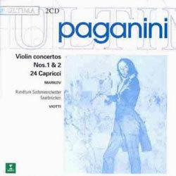 Paganini : Violin Concerto No.1 & 2ㆍ24 Capricci : Alexander Markov