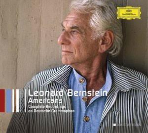 Barber / Bloch / Copland / Del Tredici / Foss / Gershwin / Harris / Ives / Rorem / Schuman : Leonard Bernstein