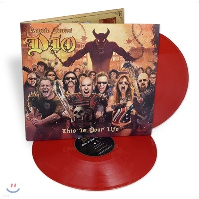 Ronnie James Dio Tribute: This Is Your Life (로니 제임스 디오 트리뷰트 앨범) [레드 컬러 2LP]