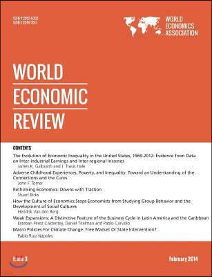 World Economic Review, 3, 2014