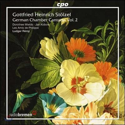 Ludger Remy 고트프리트 슈�p첼: 독일 실내 칸타타 2권 (Gottfried Stolzel: German Chamber Cantatas Ⅱ)