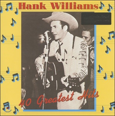 Hank Williams - 40 Greatest Hits [2LP]